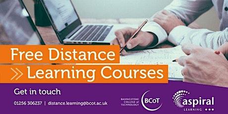 Understanding Behaviour  that Challenges (Distance Learning) tickets