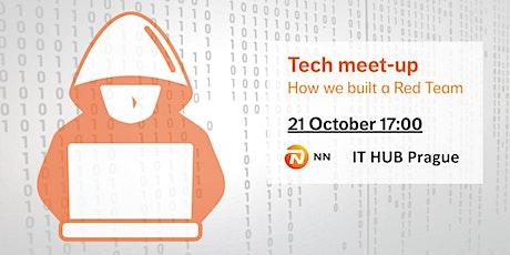 Tech meet-up: How we built a Red team in IT HUB Prague tickets