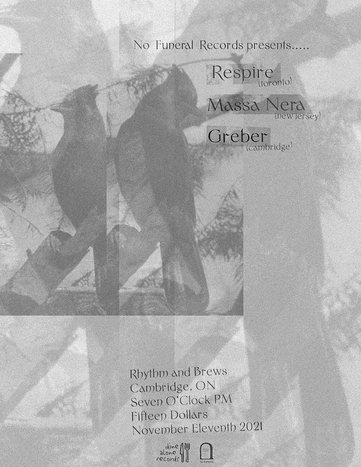 Respire / Massa Nera / Greber @ Rhythm & Brews image