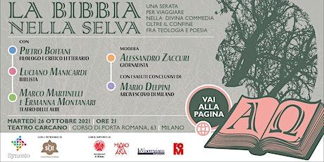 La Bibbia nella Selva biglietti