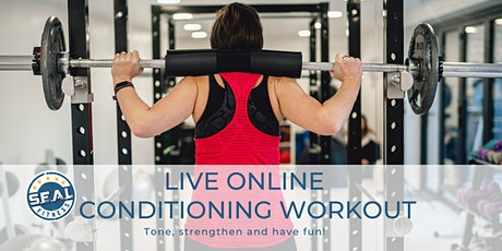 Online Conditioning Workout Live tickets