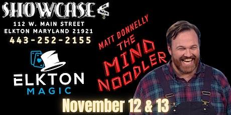 Elkton Magic presents Matt Donnelly 'The Mind Noodler' Tickets