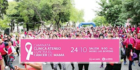CAMINATA CLÍNICA ATENEO CONTRA EL CÁNCER DE MAMA 2º EDICIÓN entradas