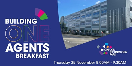 Building One Agents Breakfast tickets