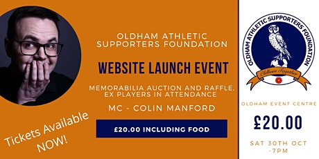 OASF Website Launch & Auction Fundraising Night tickets