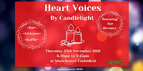 HEART VOICES BY CANDLELIGHT tickets