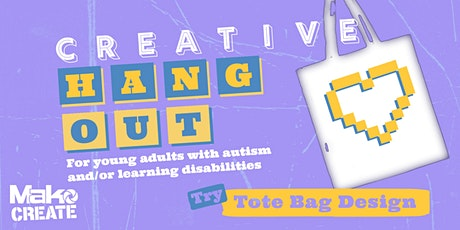 Creative Hang Out | Tote Bag Design | Face-to-face tickets