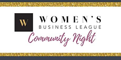 Concord, NH - WBL Community Ed Night! tickets