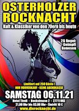 Osterholzer Rocknacht - Premiere am 06.11.2021 - 2G Tickets