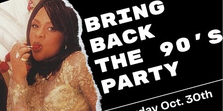 Back to the 90's Halloween Party tickets