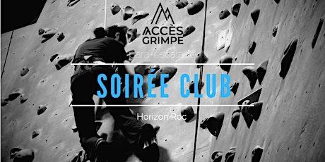 Soirée club - Montréal tickets