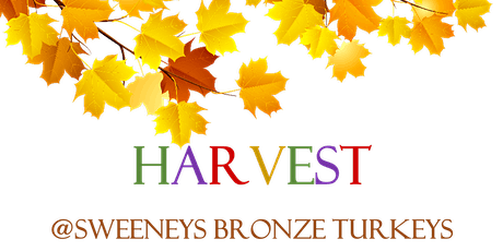 Harvest @ Sweeney's Bronze Turkeys tickets