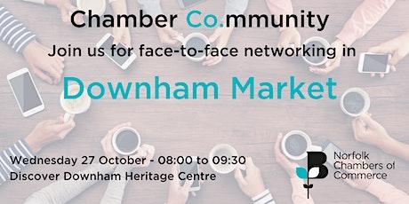 Chamber Co.mmunity - Networking in Downham Market tickets
