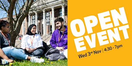 Waltham Forest College Open Event, November 2021 tickets