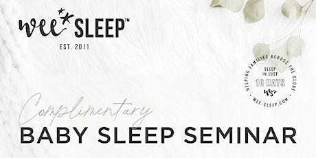 October Complimentary Virtual Sleep Seminar tickets