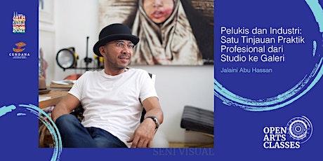 Pelukis & Industri: Tinjauan Praktik Profesional bersama Jalaini Abu Hassan tickets