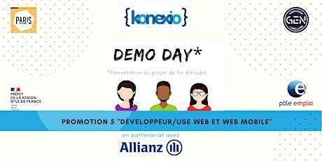 Demo Day  Dév Web Konexio ! billets