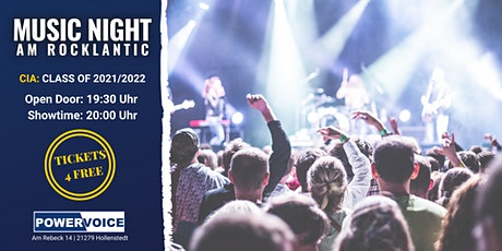 32. MUSIC NIGHT: CIA Tickets