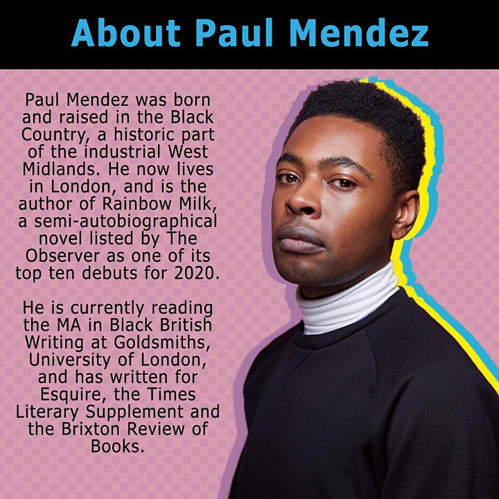 Online Author Event: Paul Mendez | UoB Library and BANES Council image