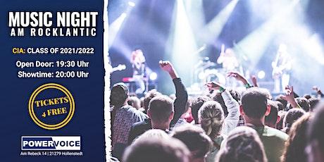 34. MUSIC NIGHT: CIA Tickets