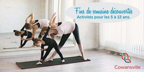 Fins de semaine découvertes - Yoga parent-enfant tickets