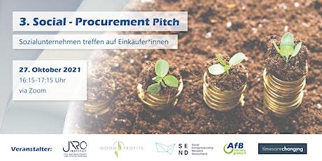 3. Social Procurement Pitch - Sozialunternehmen treffen auf Einkäufer*innen Tickets