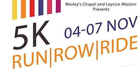 Church Anniversary: 5K Run/Row/Ride tickets
