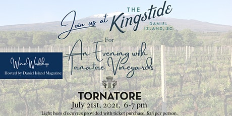 An Evening with Tornatore Vineyards tickets