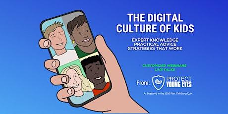 The Digital Culture of Kids - Sponsored by Salem Lutheran School tickets