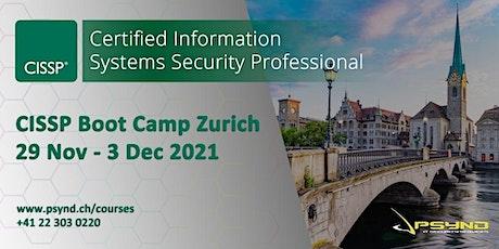 CISSP Preparation Boot Camp | ZÜRICH | Nov 29 - Dec 3 Tickets