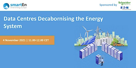 smartEn webinar: Data centres as part of a decarbonised energy system biglietti