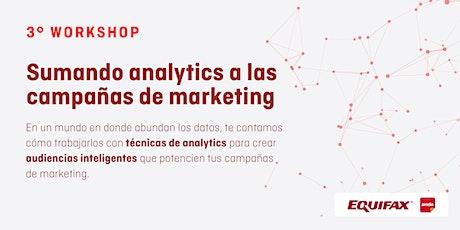 Workshop: Sumando analytics a las campañas de marketing entradas