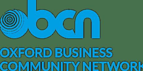 Oxford Business Community Network - Breakfast  5th November 2021 tickets