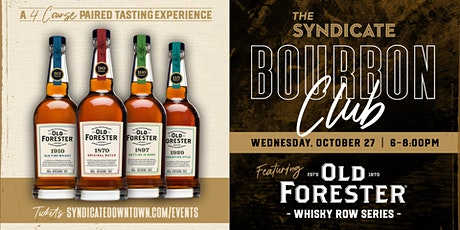 Bourbon Club tickets