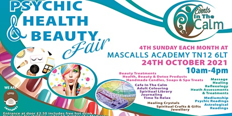 Psychic Health And Beauty Fair Paddock Wood tickets