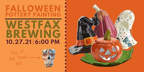 Falloween Pottery Painting at WestFax Brewing Co tickets