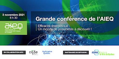 AIEQ - Grande conférence  virtuelle de l'AIEQ billets