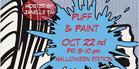 Puff & Paint Halloween Edition tickets