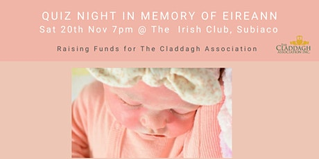 Quiz night in Memory of Eireann tickets