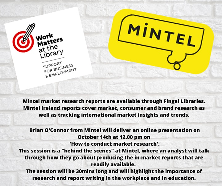 Mintel Ireland presents 'How to Conduct Market Research' image