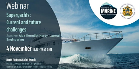 WEBINAR: Superyachts - Current and future challenges tickets
