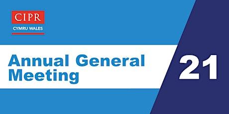 CIPR Cymru - Annual General Meeting 2021 tickets