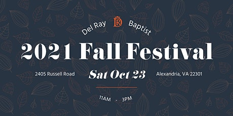 Del Ray Baptist Church Community Fall Festival 2021 tickets