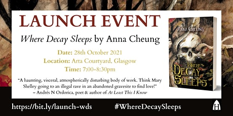 Launch of Where Decay Sleeps by Anna Cheung tickets