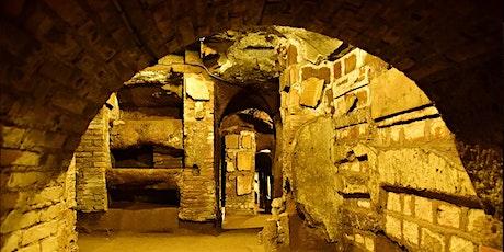 Catacombe San Sebastiano VISITA IN ITALIANO  IV giornata delle catacombe biglietti