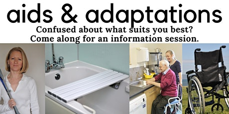 Aids and adaptations for joint protection and pain reduction tickets