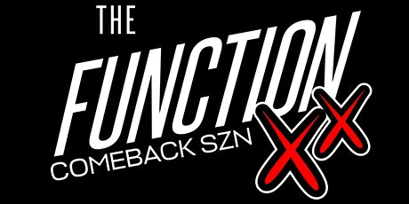 The Function - Comeback SZN tickets