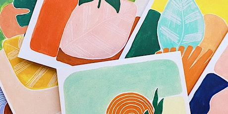 Happy Mondays: Botanical drawing & collage tickets