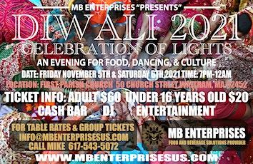 """MB ENTERPRISES """"PRESENTS"""" DIWALI 2021 tickets"""