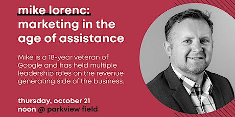 AdFed October Program | Marketing in the Age of Assistance tickets